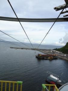 zipline launchpad from Embarcadero de Legazpi lighthouse
