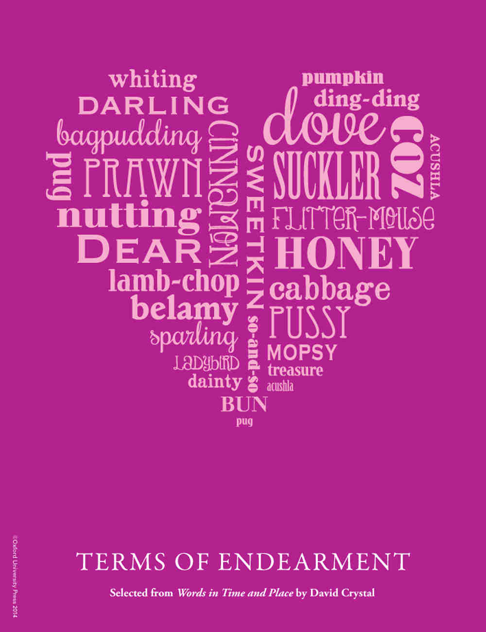 List of terms of endearment for lovers