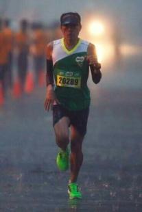 milo fun run in the rain