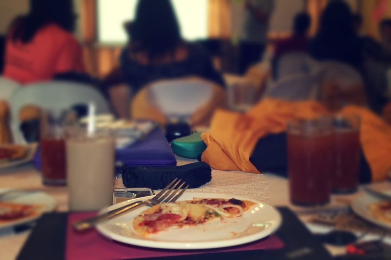 plates of food training