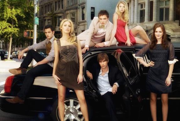 Gossip Girl cast via Grazia UK