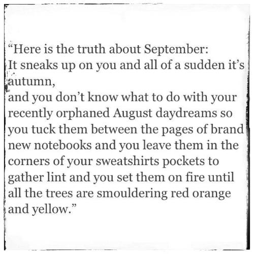 September poem