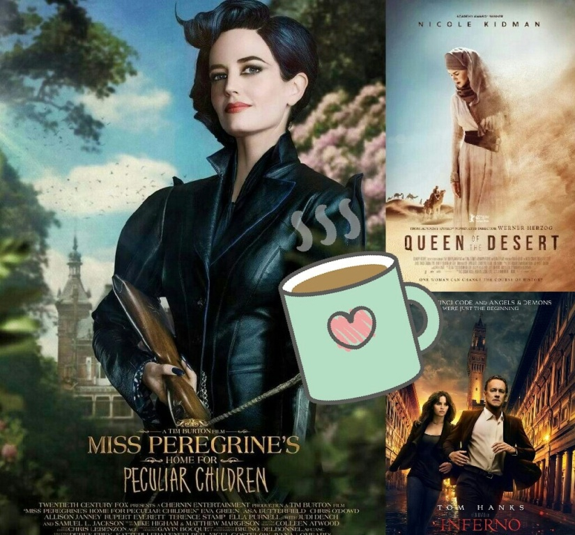 Ms. Peregrine's Home for Peculiar Children-Queen of the Desert-Inferno