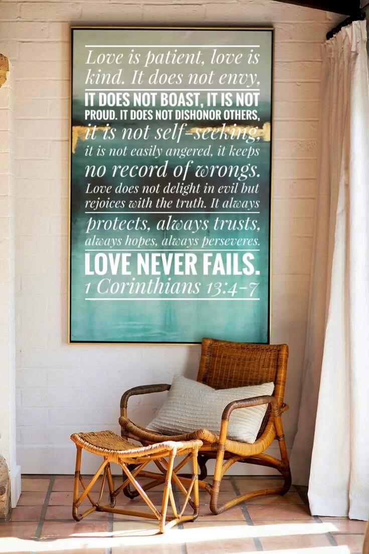 love is patient verse