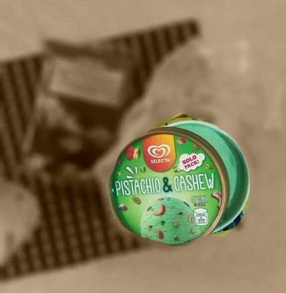 Nestle pistachio & cashew ice cream