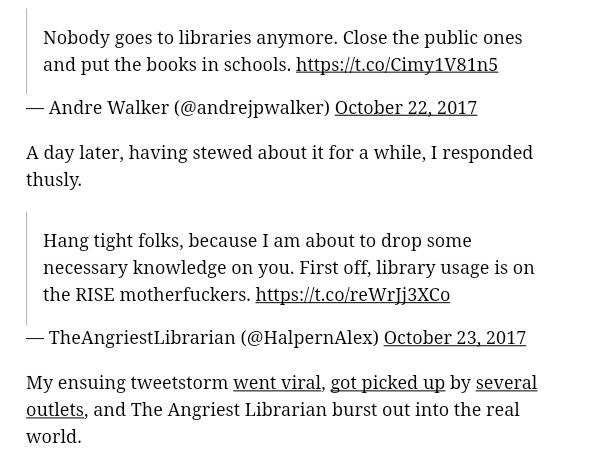 Angriest librarian via CityLab