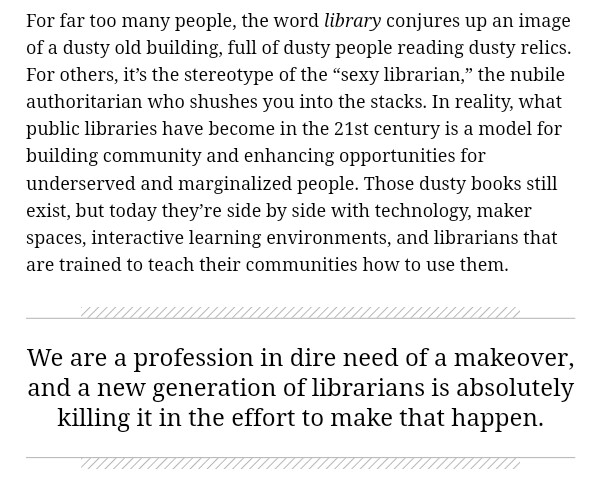 Angriest librarian via CityLab