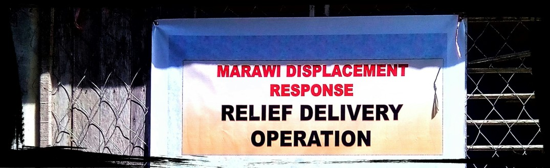 Marawi displacement response ©thecolorofred