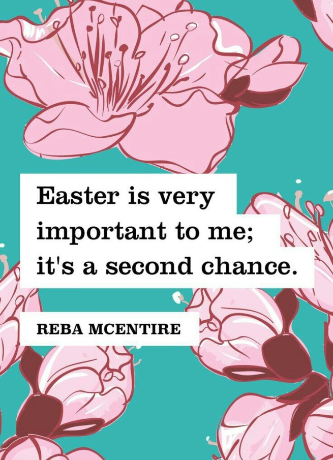 Easter second chance quote